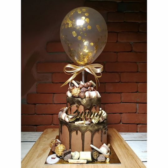 Choco Mania Double Layer with the balloon