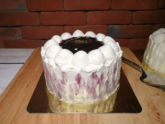 Blueberry Milk Cake