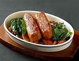 ไส้กรอกอิตาเลี่ยน สไปซี่ เจ Omni Sausage Italian Spicy ขนาด 1 kg.