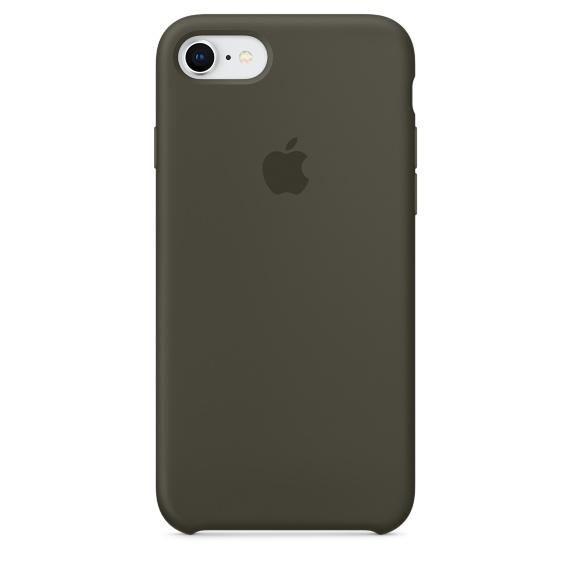 เคสไอโฟน 7 / 8  สีเขียวมะกอกเข้ม (Original)