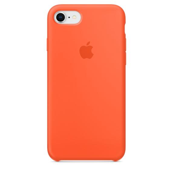 เคสไอโฟน 7 / 8  สีส้มสไปซี่ (Original)