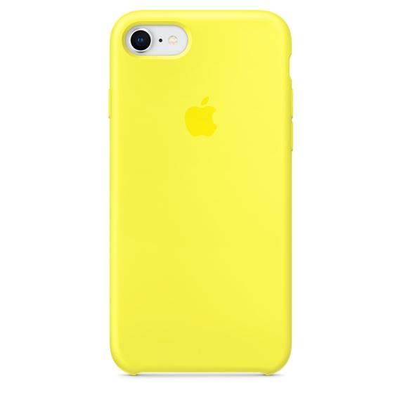 เคสไอโฟน 7 / 8  สีเหลืองนีออน (Original)