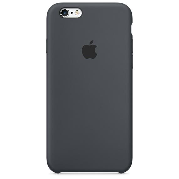 เคสไอโฟน 6 / 6S  สีเทาชาร์โคล (Original)