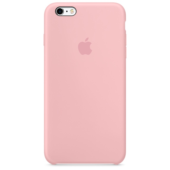 เคสไอโฟน 6 / 6S สีชมพู (Original)