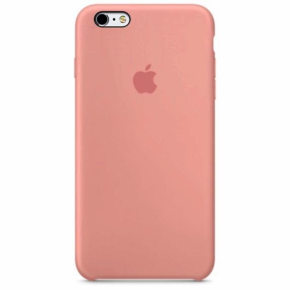 เคสไอโฟน 6 / 6S  สีส้มโอรส
