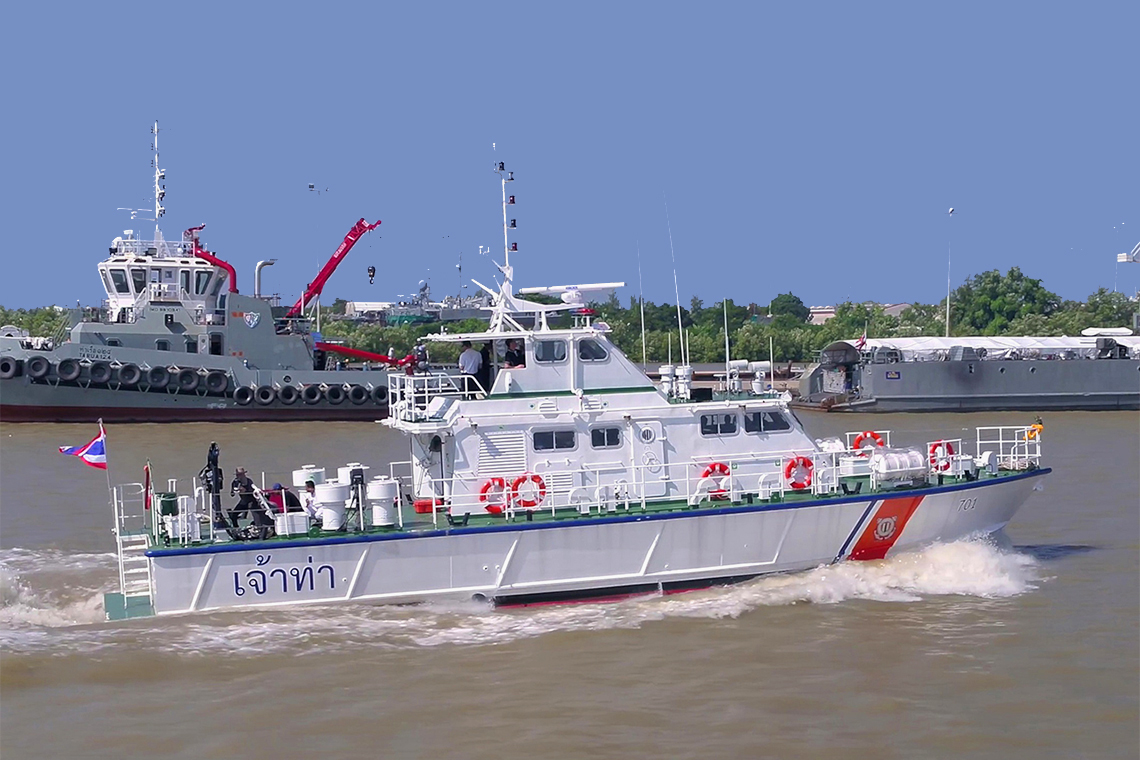 70 FT. PATROL BOAT FOR MARINE DEPARTMENT