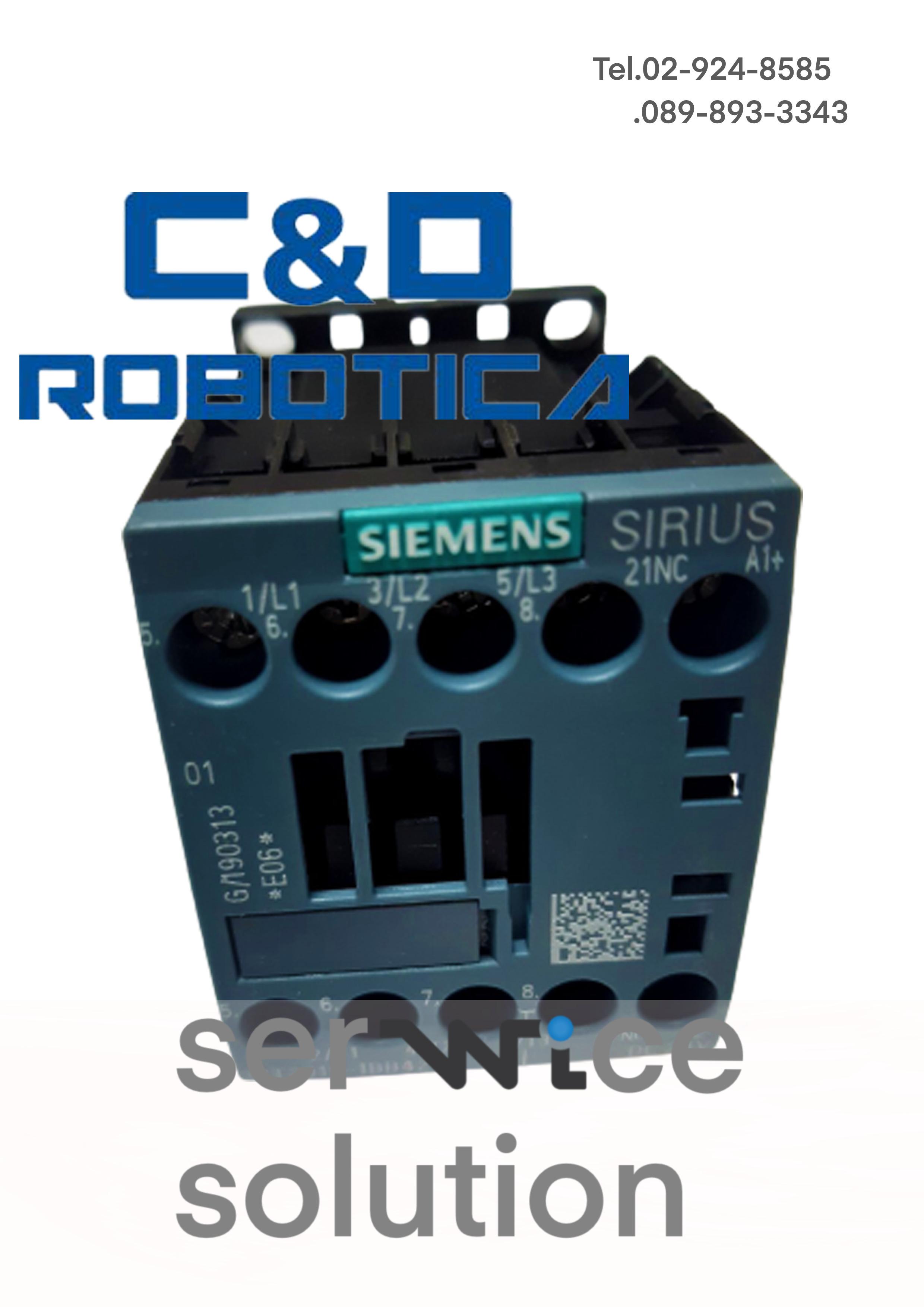 Contactor CONT.3KW,1R,DC 24V,S00 VT [C&D-CWI100007]