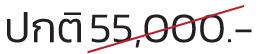 Thermage ราคา ปกติ 55,000 บาท