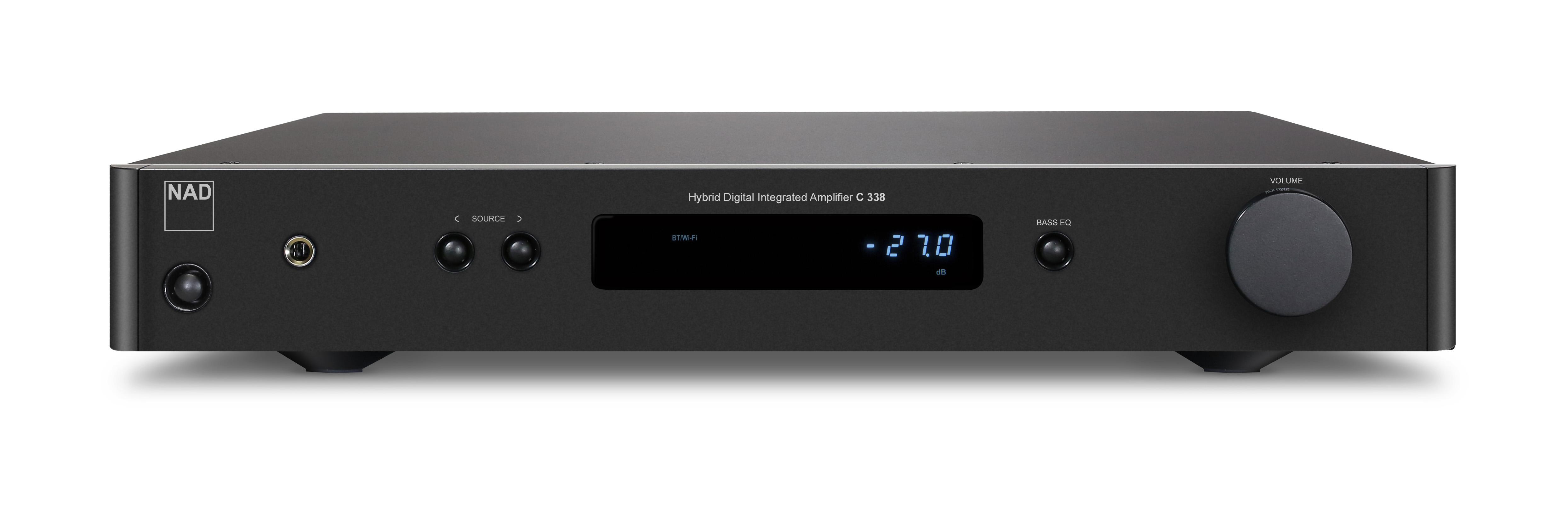 NAD C338 Hybrid Digital DAC Amplifier