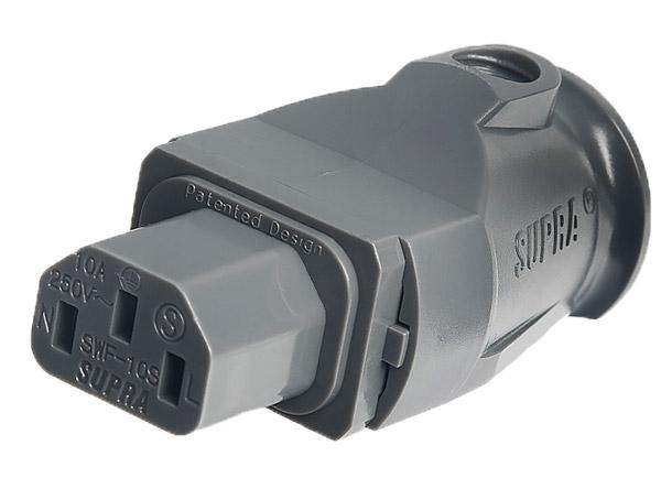 Supra Mains Plug SWF-10S Female