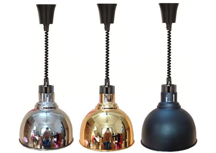 โคมไฟอุ่นอาหารสำหรับตกแต่งร้าน รุ่น TPM - 250 W.
