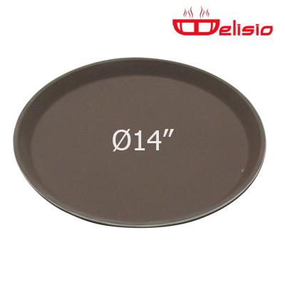 Delisio Round Non-Slip fiberglass Tray ถาดกลม Delisio 14 นิ้ว