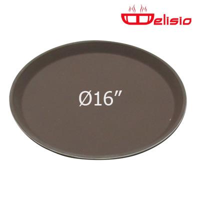 Delisio Round Non-Slip fiberglass Tray ถาดกลม Delisio 16 นิ้ว
