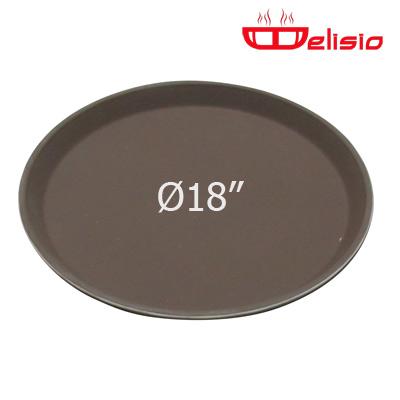 Delisio Round Non-Slip fiberglass Tray ถาดกลม Delisio 18 นิ้ว