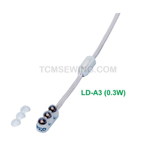 โคมไฟ LED ติดจักร (0.3W)