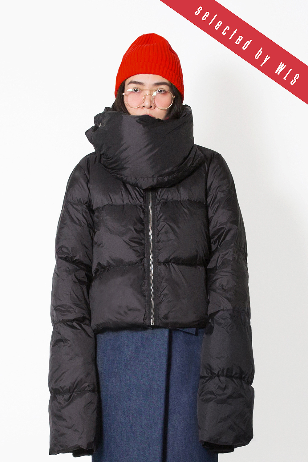 Oversized Puffer Down Jacket (Extra Long Sleeves)  Selected by WLS