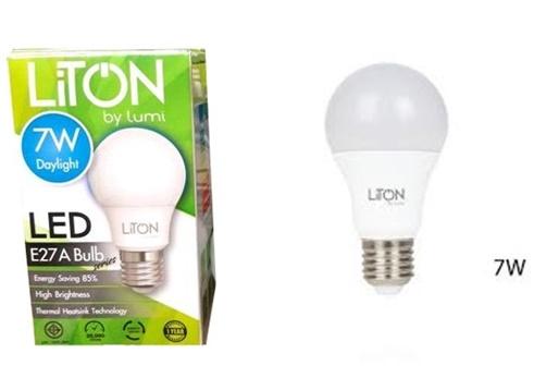 หลอดไฟ LED 7W Daylight LITON