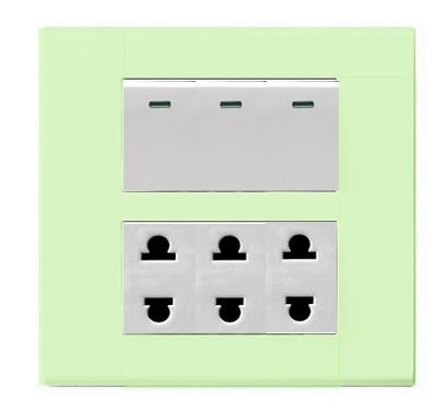 ชุดฝา UNIC สีเขียว