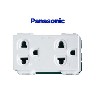 ปลั๊กกราวน์คู่ (Grounding Duplex Universal) Panasonic, VENA,Chang, Matsukami, Bticino, UNIC, Zberg, VETO