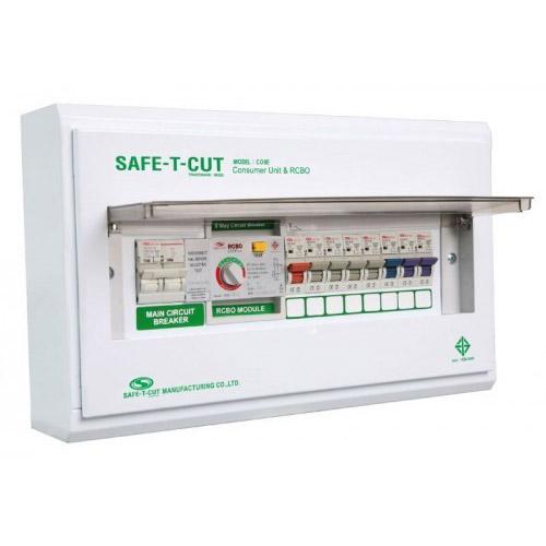 ตู้เซฟทีคัตกันดูด RCBO (Safe T Cut)