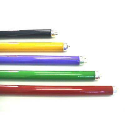 หลอดนีออนสี Colored Fluorescent Tube ยี่ห้อ TOSHIBA, DAISHIDA, LEKISE