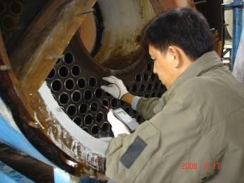งานวัดความหนา Pressure Parts Thickness Measurement