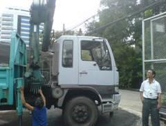 งานตรวจสอบและทดสอบเครนไฮโดรลิค  Hydraulic Crane Inspection