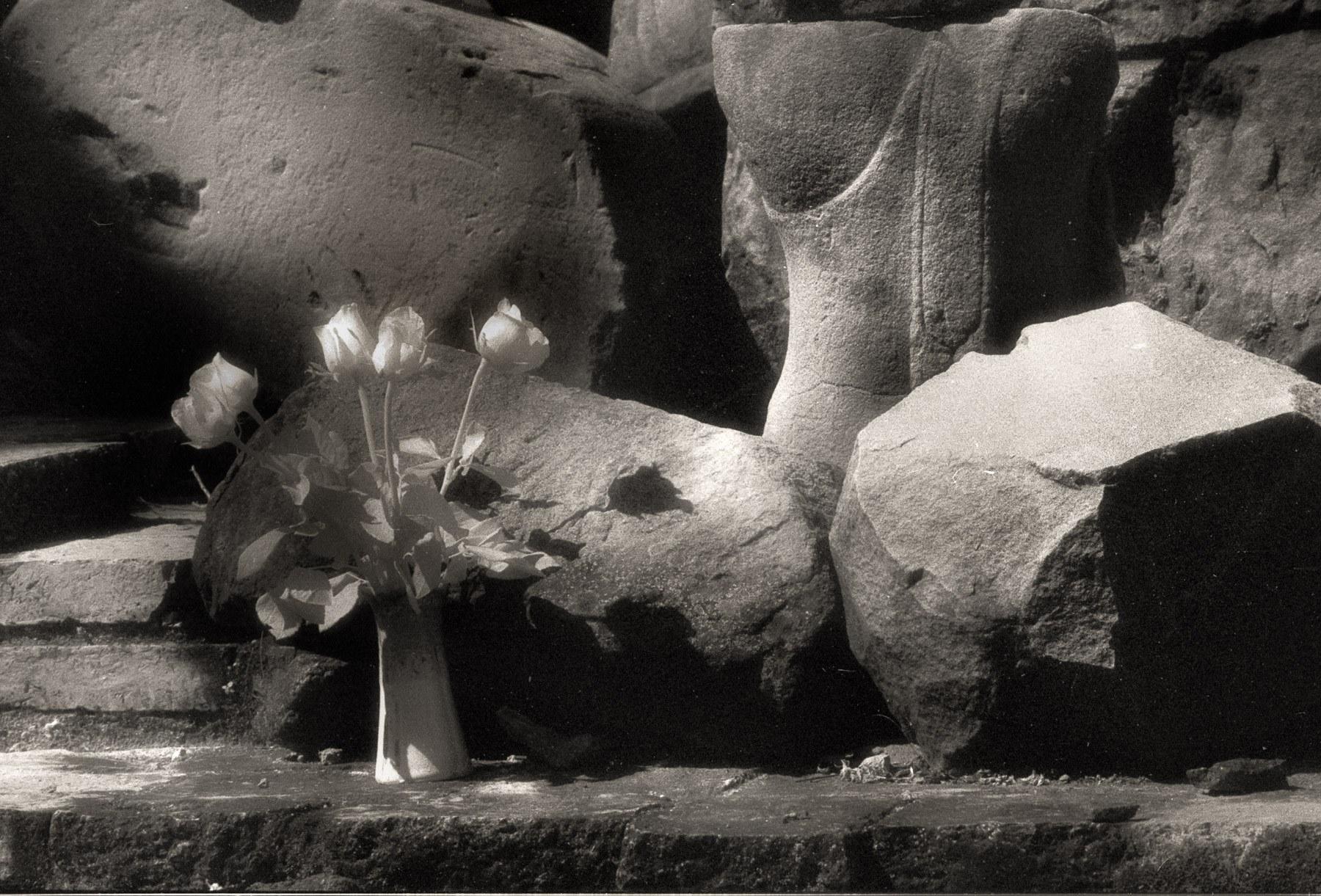 วันหนึ่ง ณ อยุธยา...  #blanckandwhitephotography #infrared #Ayuttaya