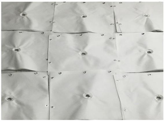 ผ้ากรองสำหรับเครื่องอัดตะกอน (FILTER PRESS)