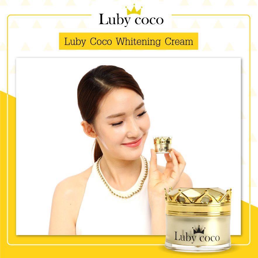 Luby Coco Tone Up Whitening Cream