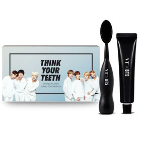 VTXBTS BTS Jumbo Toothbrush Kit (Think your teeth Jumbo kit)