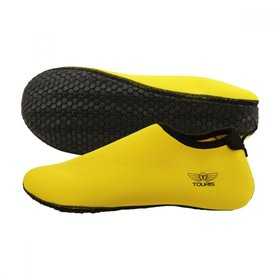 TOURIS Aqua Shoes Iguana pattern Yellow