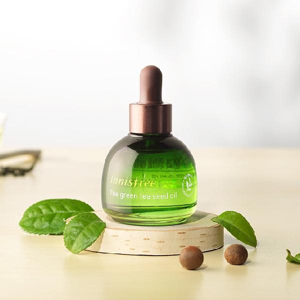 Innisfree green tea oil