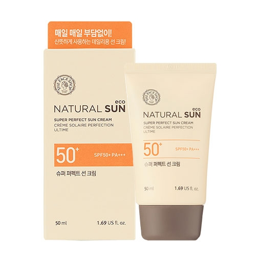 The Face Shop natural sun eco super perfect sun cream 80ml