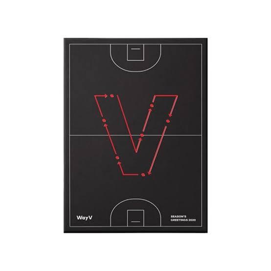 (Pre-order gift) WayV - 2020 WayV SEASONS GREETINGS