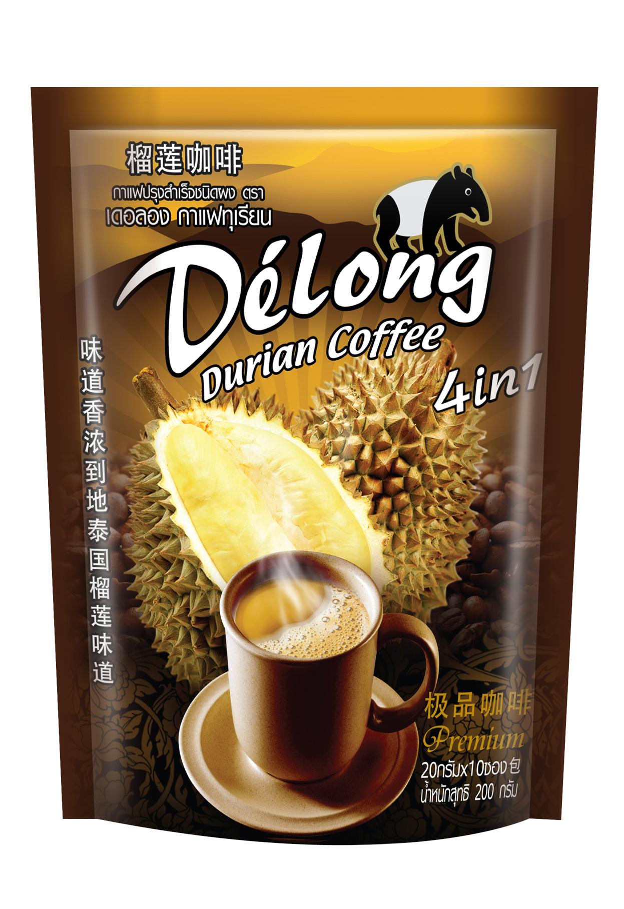 เดอลอง กาแฟทุเรียน 4in1