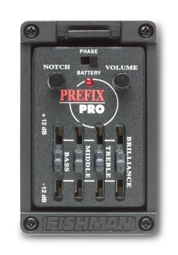 Fishman Prefix Pro Preamp (Narrow & Wide format)