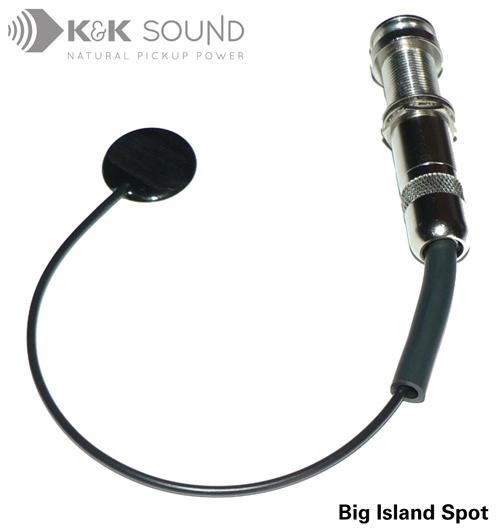 K&K Big Island Spot Internal Ukulele Pickup w/Jack