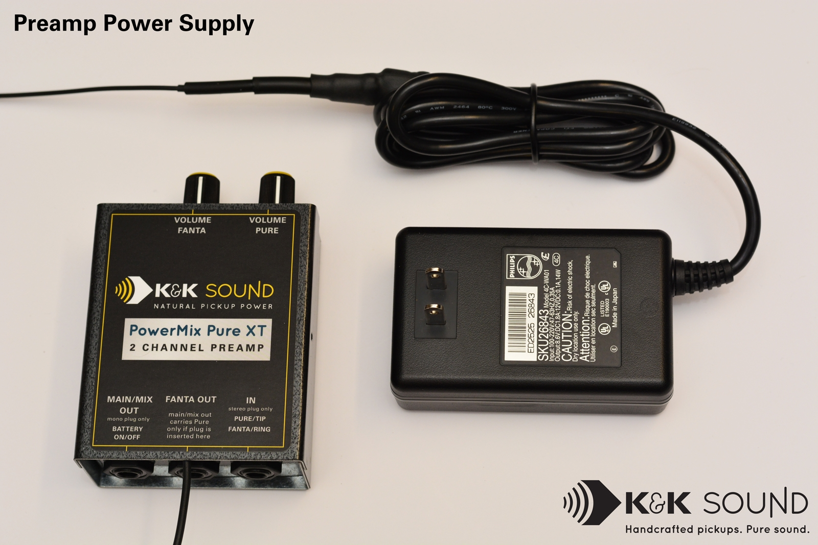 Power Supply for K&K Preamps