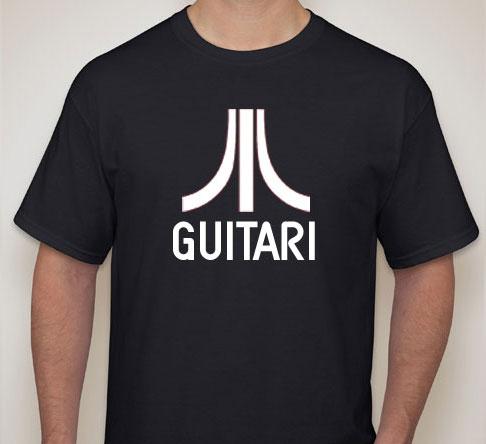 Guitari T-Shirt, Black