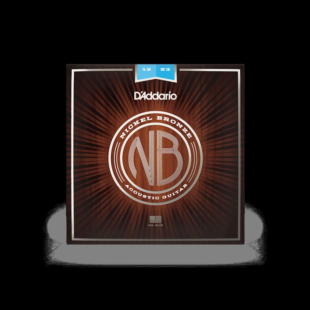 D'Addario Nickel Bronze Light 12-53
