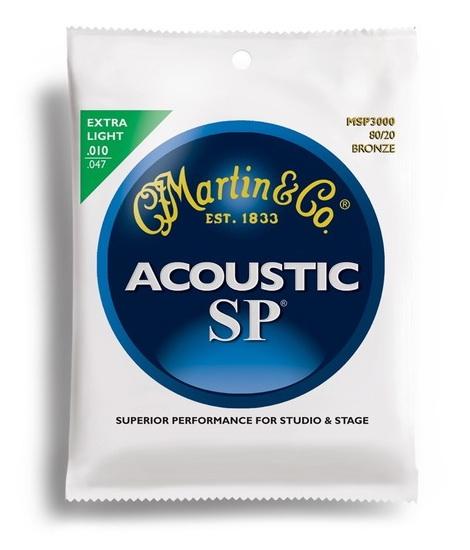 Martin Acoustic SP 80/20 Bronze Extra Light 10-47