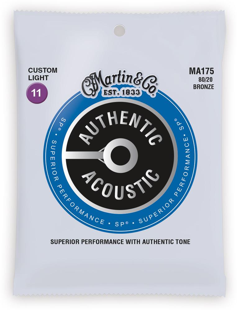 Martin Authentic Acoustic SP 80/20 Bronze Custom Light 11-52