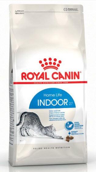 Royal Canin Indoor 27 อาหารแมวแบบเม็ด สำหรับแมวอาศัยในบ้าน 1 - 10 ปี