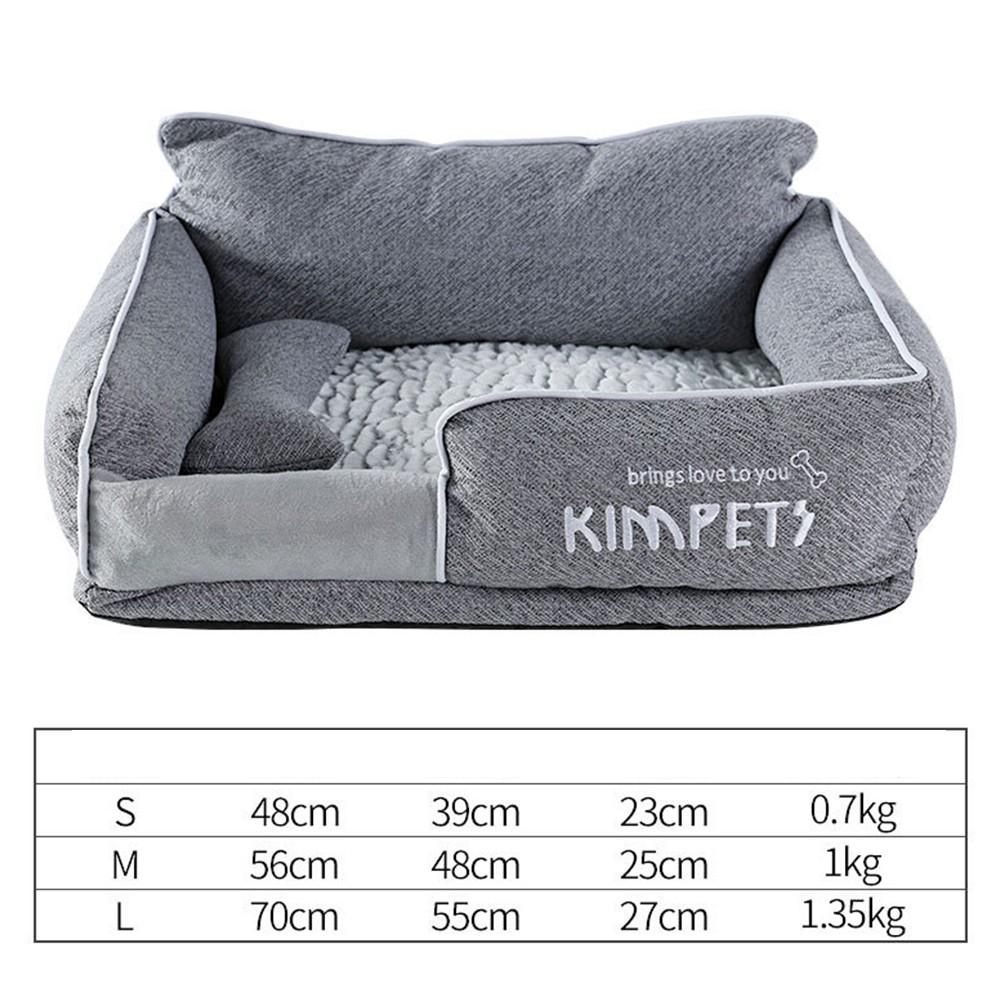 KIMPETS ที่นอนสุนัข ที่นอนหมา ที่นอนแมว ถอดทำความสะอาดได้