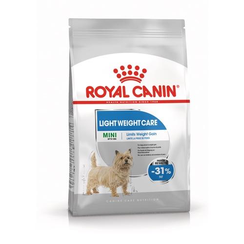 อาหารสุนัข Royal canin Mini Light Weight Care อาหารสุนัขโต ขนาดเล็ก ควบคุมน้ำหนัก