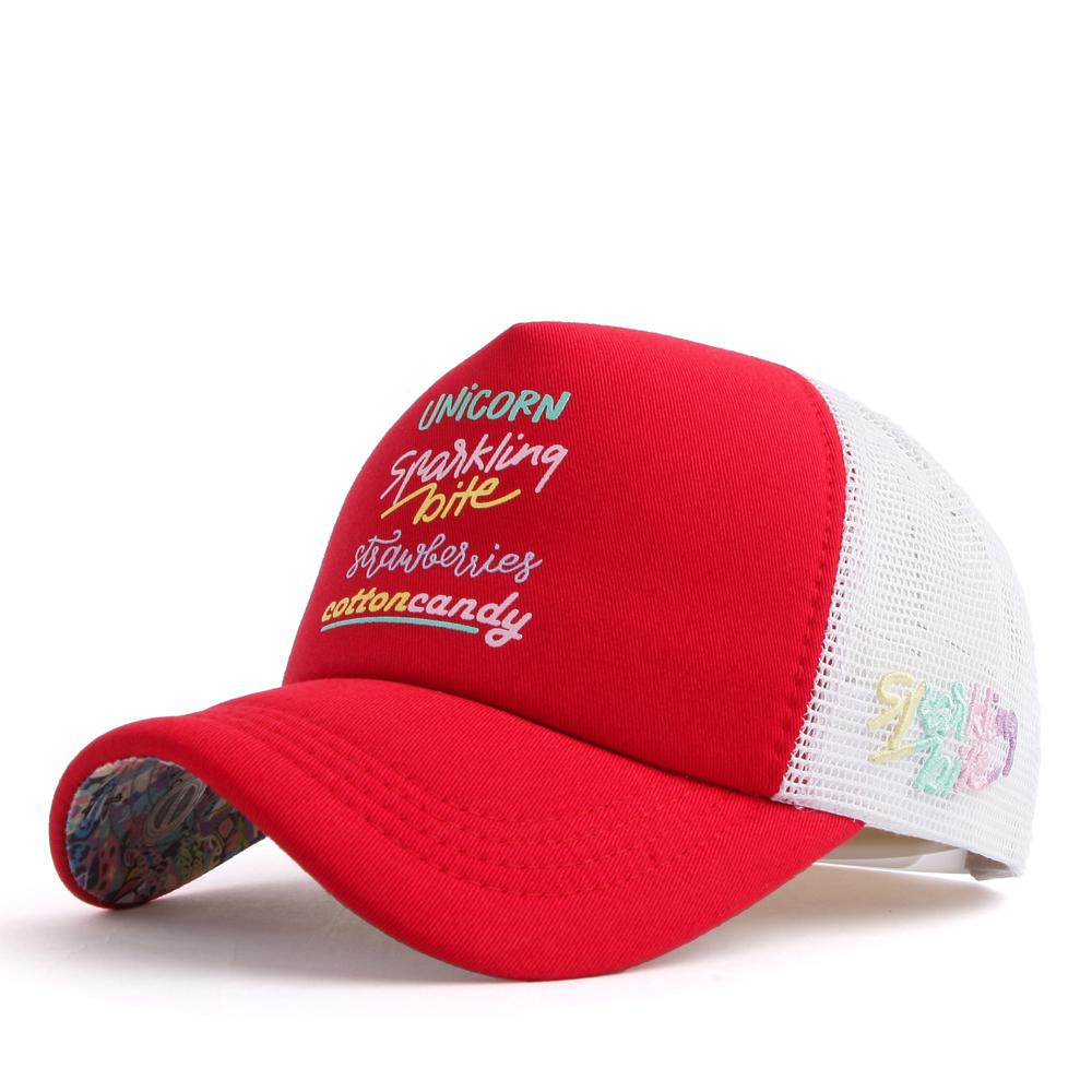 FL484 CC 5 line meshcap red