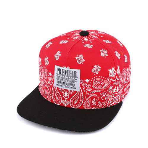 P303 SNOW PAISELY/BK.RED(KID)