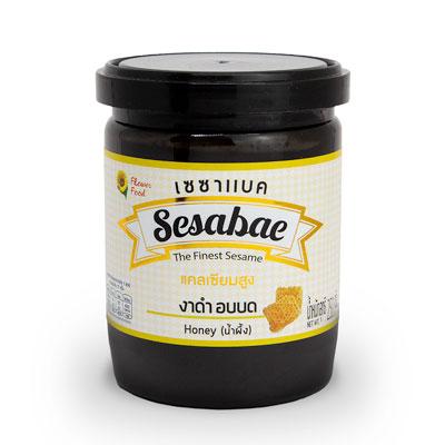 เซซาแบค งาดำอบบด รสน้ำผึ้ง 250 กรัม X1