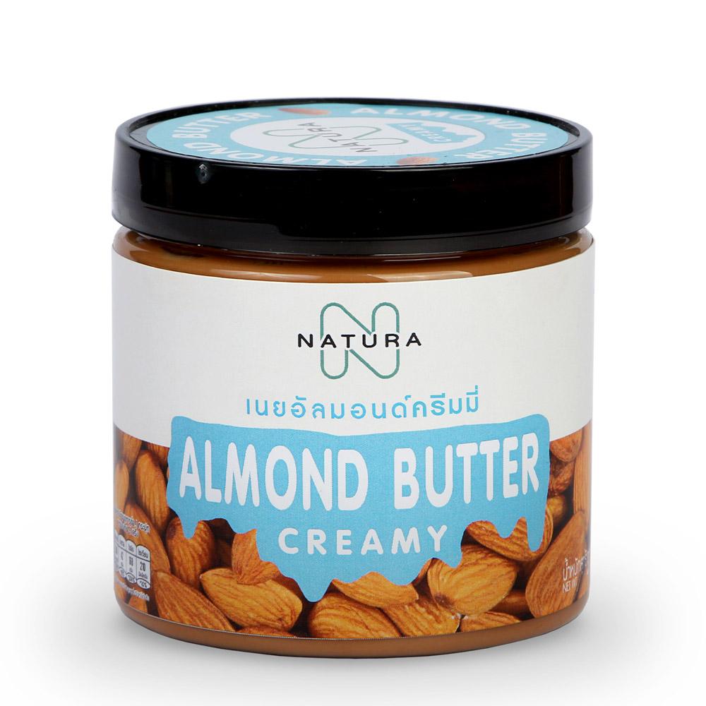 เนยอัลมอนด์ ครีมมี่ (Almond Butter Creamy)